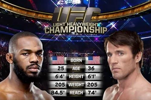 Видео боя Джон Джонс - Чейл Соннен / UFC 159