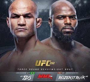 Дус Сантус сразиться с Розенструйком на UFC 252
