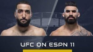 Full fight video: Lyman Good vs. Belal Muhammad / UFC on ESPN 11