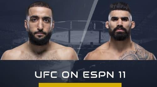 Видео боя Лайман Гуд - Белал Мухаммад / UFC on ESPN 11