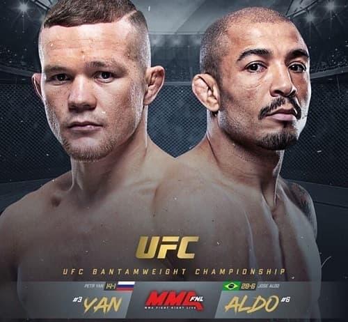 UFC 251: Петр Ян - Жозе Альдо
