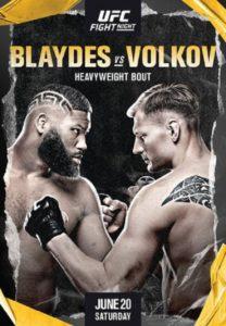UFC Fight Night 173: Александр Волков - Кёртис Блейдс