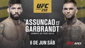 Видео боя Рафаэл Ассунсан - Коди Гарбрандт / UFC 250