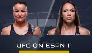 Видео боя Ракэль Пеннингтон - Марион Рено / UFC on ESPN 11