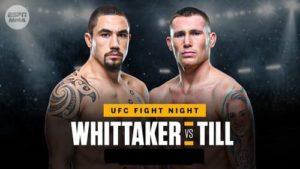 UFC Fight Night: Уиттакер - Тилл