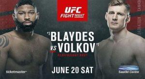 Full fight video: Alexander Volkov vs. Curtis Blaydes / UFC on ESPN 11