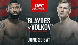 UFC on ESPN 11: Волков - Блейдс