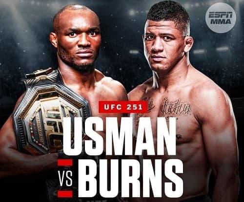UFC 251: Камару Усман vs Гилберт Бернс