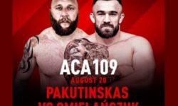 ACA 109: Пакутинскас — Омельянчук
