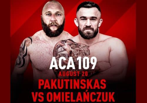 ACA 109: Пакутинскас - Омельянчук