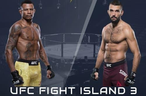 Видео боя Алекс Оливейра - Петер Соботта / UFC on ESPN 14