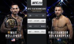 Vidéo de combat complet: Alexander Volkanovski — Max Holloway 2 / UFC 251
