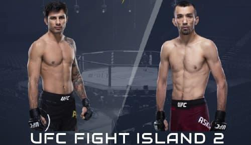 Видео боя Алешандре Пантойя - Аскар Аскаров / UFC Fight Night 172