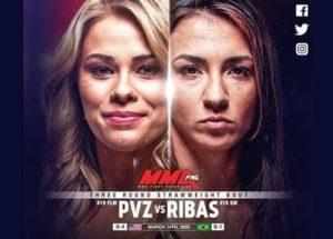 Видео боя Аманда Рибас - Пейдж Ванзант / UFC 251