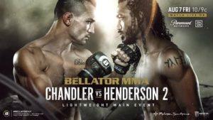 Bellator 243: Чендлер - Хендерсон 2