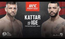 Vidéo de combat complet: Dan Ige — Calvin Kattar / UFC on ESPN 13