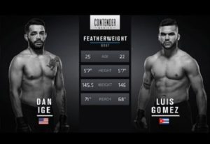 Full fight video: Dan Ige vs. Luis Gomez / UFC Fight Night