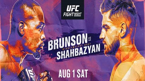 UFC Fight Night: Брансон — Шахбазян