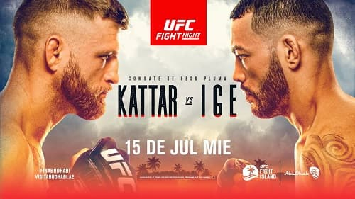 UFC on ESPN 13: Идж - Каттар / Прямая трансляция