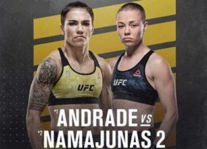 Full fight video: Jessica Andrade vs. Rose Namajunas / UFC 251