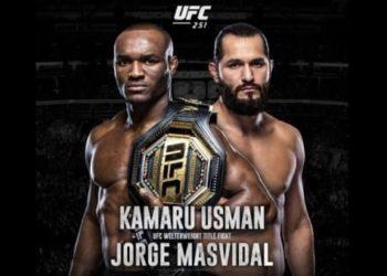 UFC 251: Камару Усман vs Хорхе Масвидаль