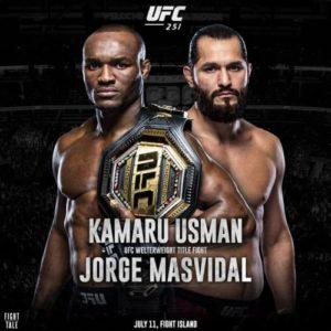 UFC 251: Камару Усман - Хорхе Масвидаль