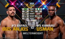 Full fight video: Kamaru Usman vs. Rafael dos Anjos / TUF 28