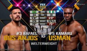 Full fight video: Kamaru Usman vs. Rafael dos Anjos / TUF 28