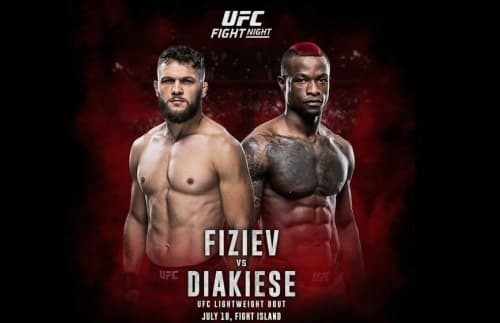Видео боя Марк Диакиес - Рафаэль Физиев / UFC Fight Night 172