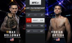 Full fight video: Max Holloway vs. Brian Ortega / UFC 231