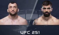 Vidéo de combat complet: Muslim Salikhov — Elizeu Zaleski dos Santos / UFC 251
