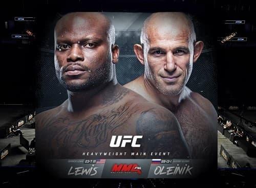 UFC Fight Night: Олейник — Льюис