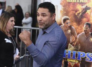 Оскар Де Ла Хойя готовится с возвращению на ринг