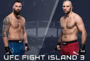 Видео боя Пол Крейг - Гаджимурад Антигулов / UFC on ESPN 14