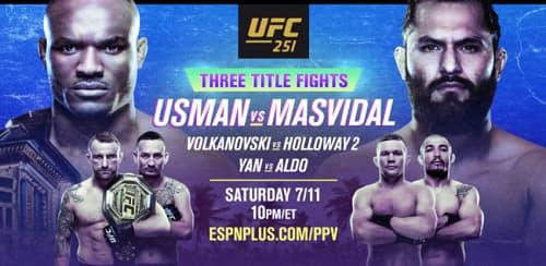 Результаты турнира UFC 251