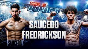 Full fight video Sonny Fredrickson vs. Alex Saucedo