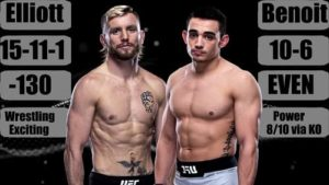 Full fight video: Tim Elliot vs. Ryan Benoit / UFC on ESPN 13