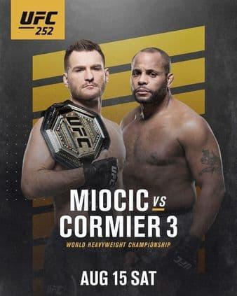 UFC 252: Миочич — Кормье 3