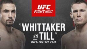 UFC Бойцовский остров 3: Уиттакер vs Тилл - Превью
