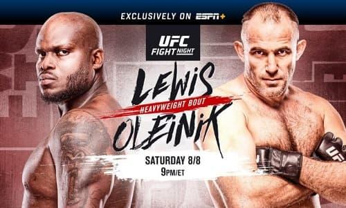 Видео боя Алексей Олейник - Деррик Льюис / UFC Fight Night 174