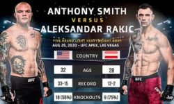 Full fight video: Anthoni Smith vs. Aleksandar Rakic / UFC Fight Night 175
