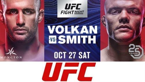 Видео боя Энтони Смит - Волкан Оездемир / UFC Fight Night 138