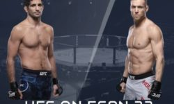 Видео боя Бенил Дариуш — Скотт Хольцман / UFC Fight Night 174