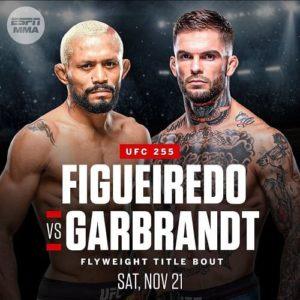 Официально: Коди Гарбрандт против Дейвисона Фигейреду на UFC 255