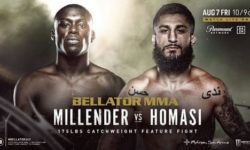 Full fight video: Curtis Millender vs. Sabah Homasi / Bellator 243