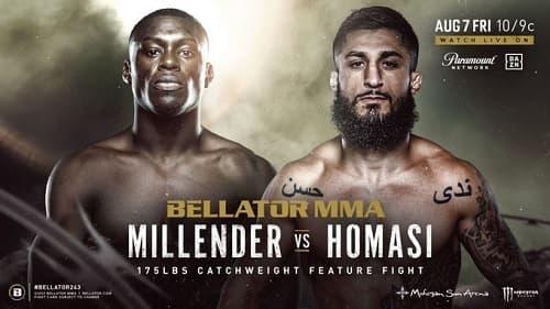 Видео боя Кертис Миллендер - Сабах Хомази / Bellator 243