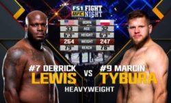 Full fight video: Derrick Lewis vs. Marcin Tybura / UFC Fight Night 126