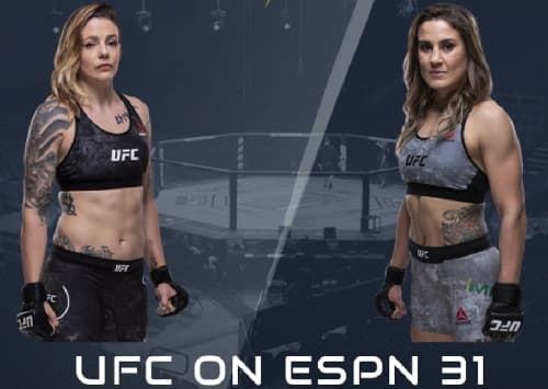 Видео боя Джоан Колдервуд - Дженнифер Майя / UFC Fight Night