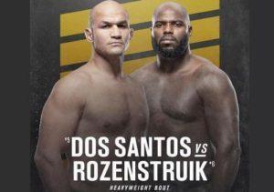 Full fight video: Junior Dos Santos vs. Jairzinho Rozenstruik / UFC 252