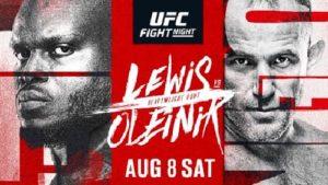UFC Fight Night 174: Олейник — Льюис
